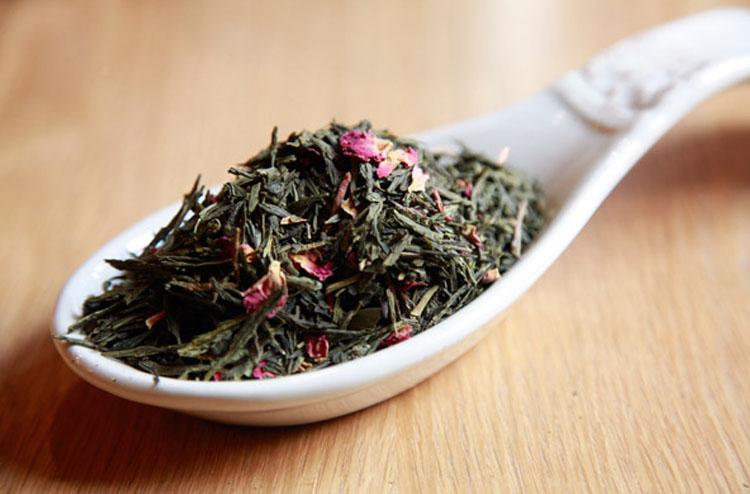 Cherry Green Tea - 50gm