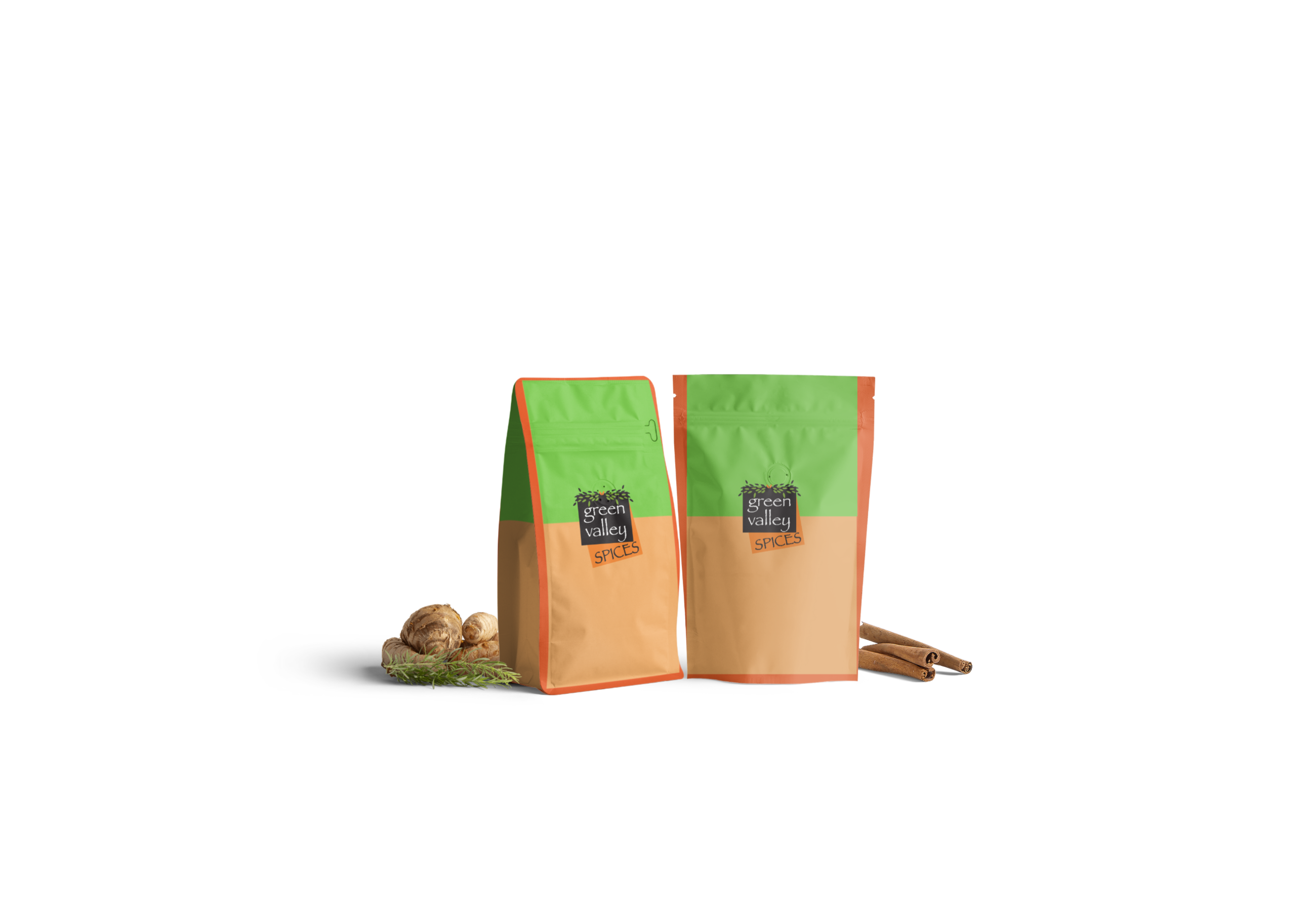 Green valley Spices - spices bags